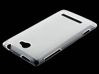 HTC Windows Phone 8S Frosted TPU Case - Frosted Clear