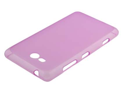 Frosted TPU Case for Nokia Lumia 820 - Frosted Pink