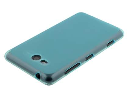 Frosted TPU Case for Nokia Lumia 820 - Light Blue
