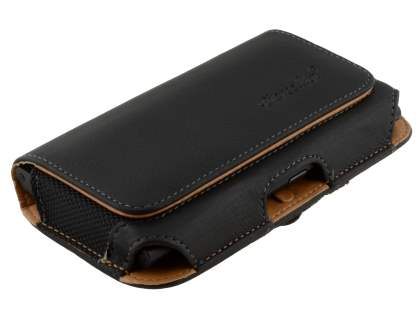 Nokia Lumia 920 Synthetic Leather Belt Pouch - Classic Black