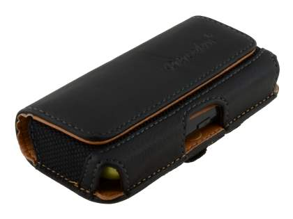 Nokia C5-03 Synthetic Leather Belt Pouch - Classic Black