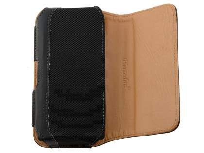 Sony Xperia acro S LT26w Synthetic Leather Belt Pouch - Classic Black
