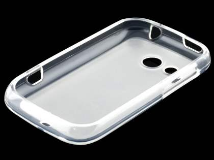 HTC Desire C A320E Frosted TPU Case - Clear