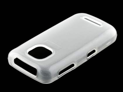 TPU Gel Case for Nokia Asha 311 - Frosted Clear Soft Cover
