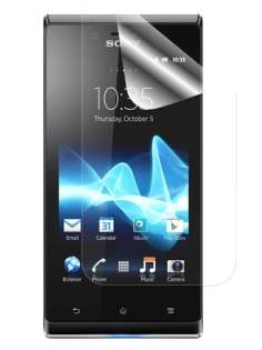 Sony Xperia J ST26i Ultraclear Screen Protector