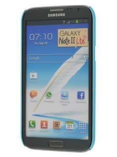 Vollter Ultra Slim Rubberised Case for Samsung Galaxy Note II N7100 - Sky Blue