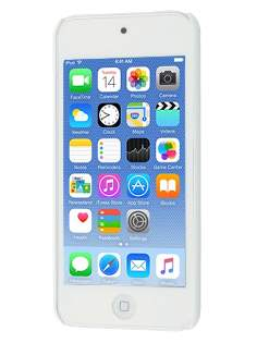 Vollter iPod Touch 5 Ultra Slim Rubberised Case plus Screen Protector - Pearl White