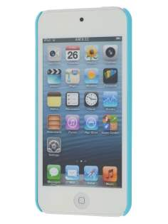 Vollter iPod Touch 5 Ultra Slim Rubberised Case plus Screen Protector - Sky Blue
