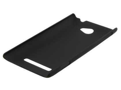 Vollter HTC Windows Phone 8S Ultra Slim Rubberised Case plus Screen Protector - Classic Black