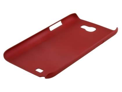 Vollter Samsung Galaxy Note II N7100 Ultra Slim Rubberised Case plus Screen Protector - Red