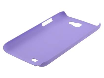 Vollter Ultra Slim Rubberised Case plus Screen Protector for Samsung Galaxy Note II N7100 - Lavender Purple