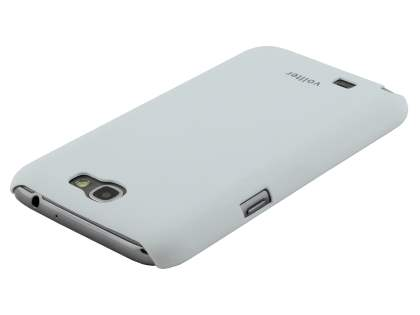 Vollter Ultra Slim Rubberised Case for Samsung Galaxy Note II N7100 - Pearl White