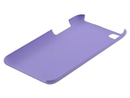 Vollter iPod Touch 4th Ultra Slim Rubberised Case plus Screen Protector - Lavender Purple