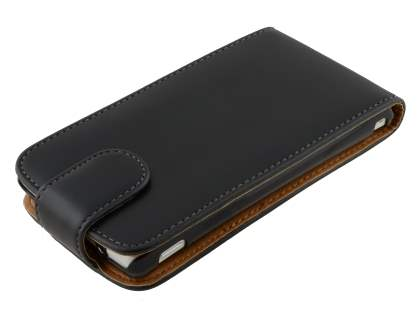 Sony Xperia TX LT29i Synthetic Leather Flip Case - Black