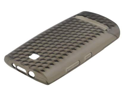 TPU Gel Case for Nokia Asha 303 - Diamond Grey
