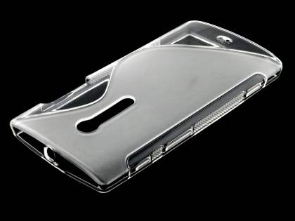 Sony Xperia ion LT28i Wave Case - Frosted Clear/Clear