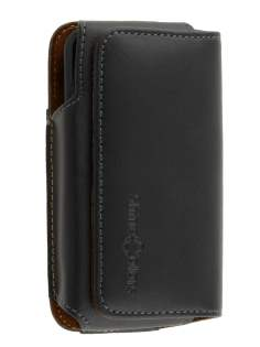 Extra-tough Genuine Leather ShineColours belt pouch for Nokia Lumia 620 - Belt Pouch