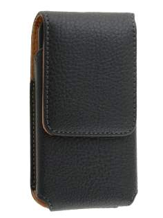 Textured Synthetic Leather Vertical Belt Pouch for Nokia Lumia 620
