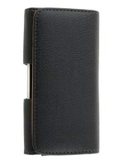 Textured Synthetic Leather Belt Pouch for Sony Xperia TX LT29i - Belt Pouch