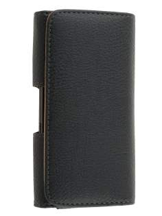 Textured Synthetic Leather Belt Pouch for Sony Xperia ion LTE lt28i - Belt Pouch