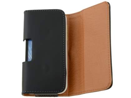 Smooth Synthetic Leather Belt Pouch for Motorola DEFY XT535