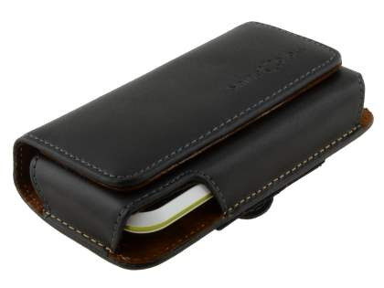 Extra-tough Genuine Leather ShineColours belt pouch for Motorola DEFY XT535