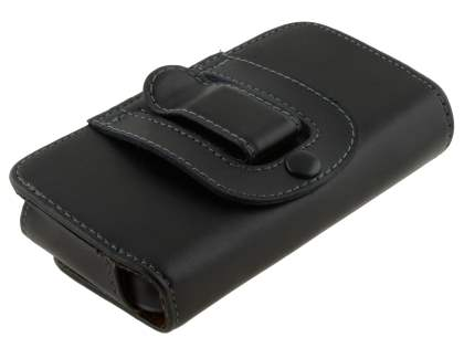 Extra-tough Genuine Leather ShineColours belt pouch for Nokia Lumia 620