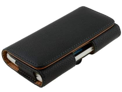 Textured Synthetic Leather Belt Pouch for Sony Xperia TX LT29i