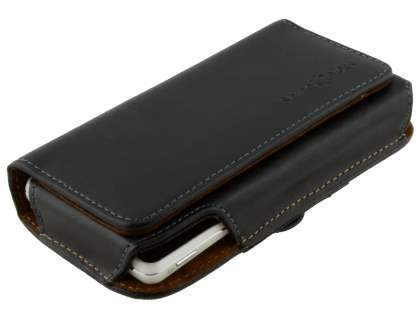 Extra-tough Genuine Leather ShineColours belt pouch for Sony Xperia TX LT29i