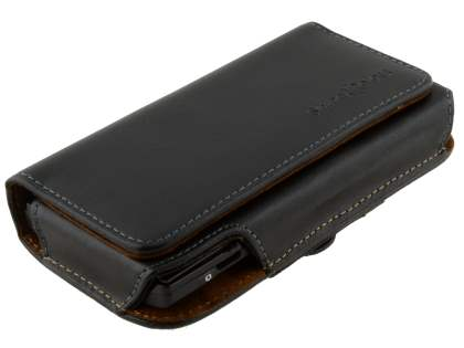 Extra-tough Genuine Leather ShineColours belt pouch for Sony Xperia ion LTE lt28i