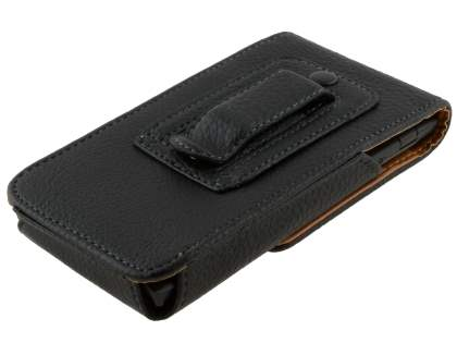 Textured Synthetic Leather Vertical Belt Pouch for Sony Xperia ion LTE lt28i