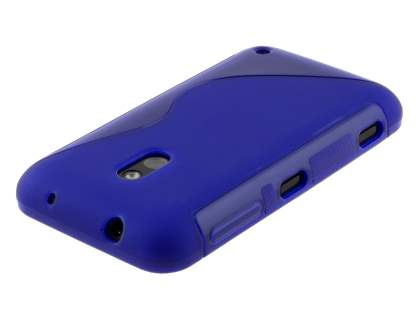 Wave Case for Nokia Lumia 620 - Ocean Blue/Blue