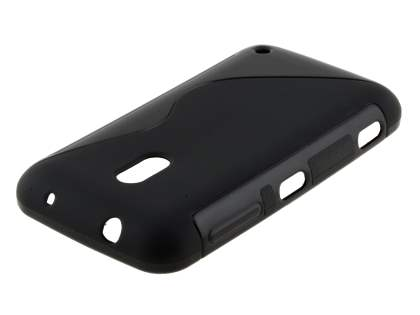 Wave Case for Nokia Lumia 620 - Frosted Black/Black