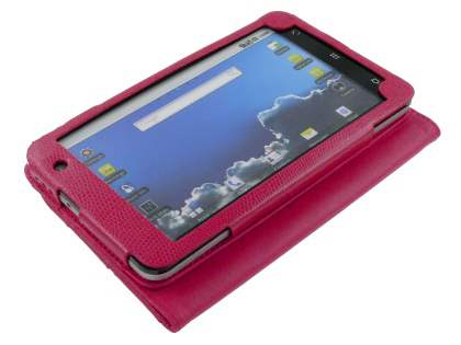 ZTE V9 Synthetic Snakeskin Leather Flip Case with Stand - Pink