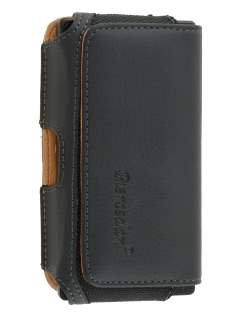 Sony Xperia Sola MT27i Synthetic Leather Belt Pouch - Classic Black