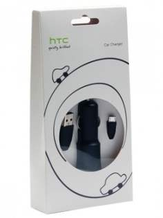 HTC Micro USB CC C200 Car Charger and Data Cable