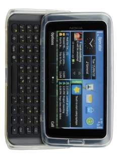 TPU Gel Case for Nokia E7 - Clear Soft Cover