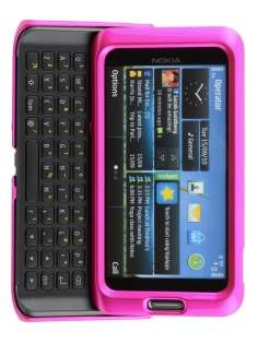 Nokia E7 UltraTough Glossy Slim Case - Pink Hard Case