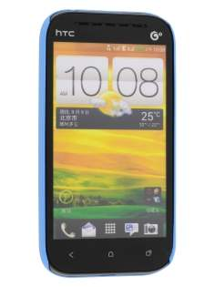 HTC One SV Ultra Slim Case plus Screen Protector - Sky Blue