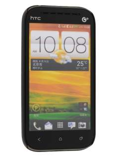 HTC One SV Ultra Slim Case plus Screen Protector - Classic Black