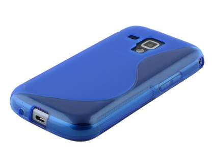 Samsung Galaxy Trend Plus S7583T / S Duos S7562 Wave Case - Frosted Blue/Blue