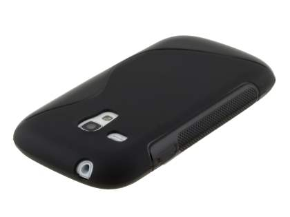 Samsung I8190 Galaxy S3 mini Wave Case - Frosted Black/Black