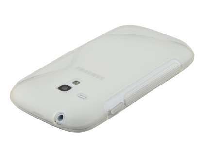 Samsung I8190 Galaxy S3 mini Wave Case - Frosted Clear/Clear
