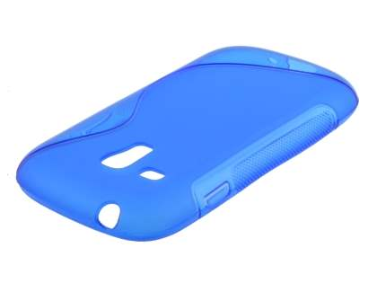 Samsung I8190 Galaxy S3 mini Wave Case - Frosted Blue/Blue