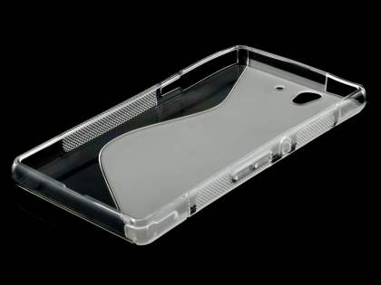 Sony Xperia Z Wave Case - Frosted Clear/Clear