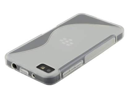 BlackBerry Z10 Wave Case - Frosted Clear/Clear