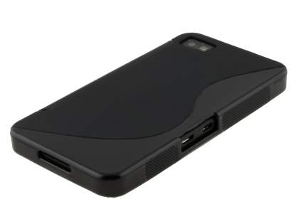 BlackBerry Z10 Wave Case - Frosted Black/Black