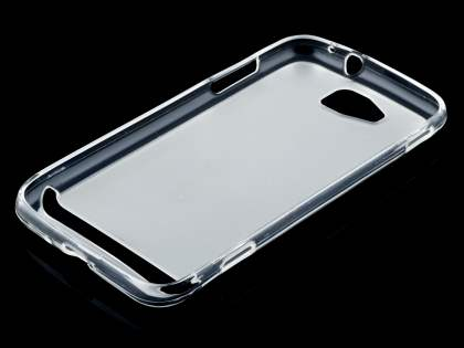 Frosted TPU Case for Samsung Ativ S I8750 - Frosted Clear