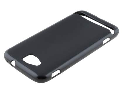 Frosted TPU Case for Samsung Ativ S I8750 - Classic Black