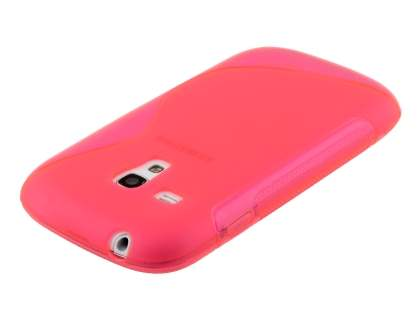 Samsung I8190 Galaxy S3 mini Wave Case - Frosted Pink/Pink